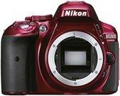 Nikon D5300 body, raudonas