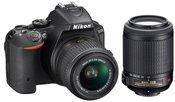 Nikon D5500 + 18-55mm VR II ir 55-200mm VR
