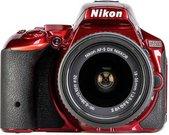 Nikon D5500 + 18-55 VR II raudonas