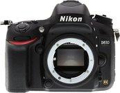 Nikon D610 be objektyvo