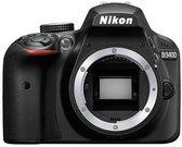 Nikon D3400 be objektyvo