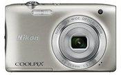 Nikon S2900 silver + case (ALM2400BV)