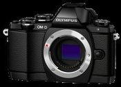 Olympus OM-D E-M10 be objektyvo