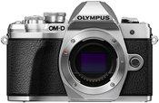 Olympus OM-D E-M10 mark III body (Sidabrinis)