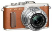 """Olympus PEN E-PL8 + 14-42 IIR System, 16.1 MP, Image stabilizer, ISO 25600, Display diagonal 3.0 """", Video recording, Wi-Fi, F.A.S.T. AF (Contrast Detection), Magnification x5, x7, x10, x14 x, Live MOS, Brown"""