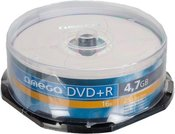 Omega DVD+R 4.7GB 16x 25pcs spindle