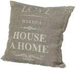"Pagalvėlė ""Love makes house a Home"" 45x45x15 cm 99354"