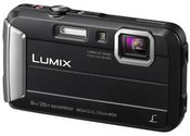 "Panasonic DMC-FT30EP-K Compact camera, 16.1 MP, Optical zoom 4 x, Digital zoom 4 x, Image stabilizer, ISO 6400, Display diagonal 2.7 "", Focus 0.05m - ∞, Video recording, Lithium-Ion (Li-Ion), Black"