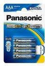 1x4 Panasonic Evolta LR 03 Micro