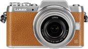 Panasonic Lumix DMC-GF7 + 12-32mm H-FS (brown/silver)