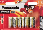 Panasonic Pro Power battery LR03PPG/10B (6+4) AB