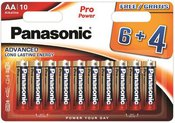 Panasonic Pro Power battery LR6PPG/10B (6+4pcs)