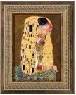 Paveikslas porcelianinis 16x19.5 cm Klimt. Bučinys 66-534-63-7 Goebel