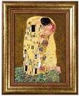Paveikslas porcelianinis 28x34 cm Klimt. Bučinys 66-534-41-3