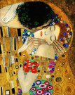 Paveikslo Klimt. Bučinys reprodukcija 90x60cm. 93731 G92693