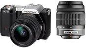 Pentax K-01 + DAL 18-55mm + 50-200mm objektyvai