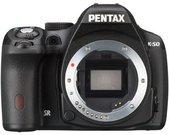 Pentax K-50 be objektyvo