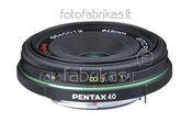 Pentax obj. DA 40mm F2.8