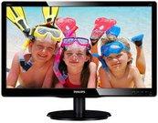 """PHILIPS 200V4LAB2/00 19.5"""" W-LED/16:9/1600x900/200cdm2/5ms /H-90,V-65/10M:1/VGA,DVI-D/Vesa/Speakers/Black"""