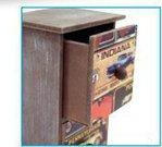 Dėžutė nuotraukoms PONTIAC medinė H-22 cm. HH1218