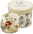 Puodelis dėžutėje su gėlių piešiniu 430 ml 5902693919919