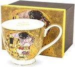 Puodelis Klimt paveikslo Bučinys motyvais 10x15x10,5 cm 116925