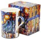 Puodukas arbatai su tapybos darbo pieš. 10x10,5x7,5 cm 107821