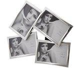 Rėmelis galerija 10x15 cm 4 nuotraukoms metalinis sidabro spalvos A189