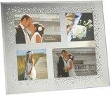 Rėmelis keturioms nuotraukoms vestuvinis H:28 W:32 cm FG529 zzz
