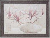 Reprodukcija 1707452 Magnolija vazoje su rėmu 1306000 50*70