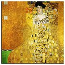 Reprodukcija ant tekstilės Klimt. Adele Bloch Bauer 80x80 cm 92950, G92688