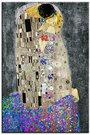 Reprodukcija Klimt. Bučinys motyvais G94373 60x90 cm, 99778