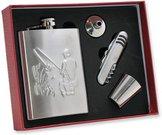 Rinkinys gertuvė 240ml+stikliukai+piltuvėlis+peiliukas ŽVEJUI KW8RP