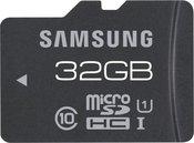 Samsung microSDHC Pro 32GB Class 10 w. Adapter MB-MGBGBA/EU