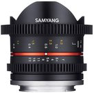 Samyang 8mm T3.1 Cine UMC Fish-Eye II Canon M