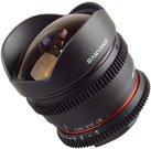Samyang 8mm T3.8 VDSLR II, Canon M