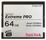 SanDisk CFAST 2.0 VPG130 64GB Extreme Pro SDCFSP-064G-G46D