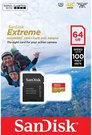SanDisk microSDXC Action SC 64GB Extr.100MB A1 SDSQXAF-064G-GN6AA