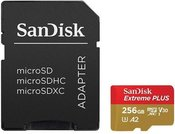 SanDisk Extreme Plus microSDXC 256GB+SD Adapter