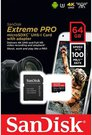 SanDisk microSDXC A1 100MB 64GB Extreme Pro SDSQXCG-064G-GN6MA