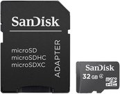 SanDisk MicroSDHC + SD Adapteris 32GB SDSDQM-032G-B35A