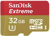 SanDisk MicroSDHC Action SC 32GB Extreme 90MBs SDSQXNE-032G-GN6AA