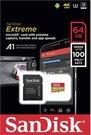 SanDisk microSDXC V30 A1 64GB Extreme 100MB SDSQXAF-064G-GN6MA