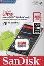 SanDisk Ultra microSDHC 200GB 100MB/s.Adapt.SDSQUAR-200G-GN6MA