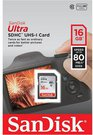 SanDisk Ultra SDHC UHS-I 16GB 80MB/s Cl. 10 SDSDUNC-016G-GN6IN