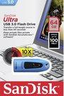 SanDisk Ultra USB 3.0 BLUE 64GB SDCZ48-064G-U46B