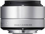 Sigma 30mm F2.8 DN silver MFT