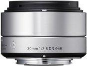 Sigma 30mm F2.8 DN silver Sony E-Mount