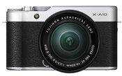 FujiFilm X-A10 + 16-50mm XC sidabrinis