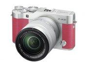 Sisteminis fotaparatas Fujifilm X-A3 XC16-50 rožinis